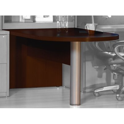 Aberdeen 29.5 H x 72 W Desk Peninsula Finish: Mocha
