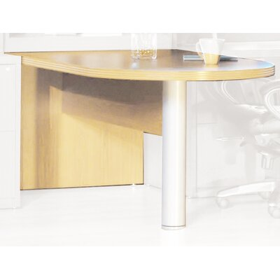 Aberdeen 29.5 H x 72 W Desk Peninsula Finish: Maple