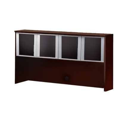 Corsica Series 38.5 H x 72 W Desk Hutch Finish: Mahogany