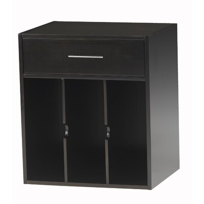 Sorrento 19.75 H x 18.5 W Desk File Pedestal Finish: Espresso