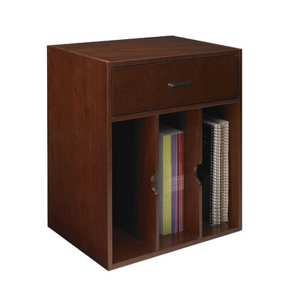 Sorrento 19.75 H x 18.5 W Desk File Pedestal Finish: Bourbon Cherry