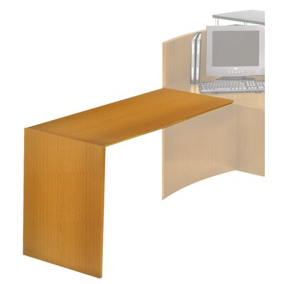 Napoli Series 28.75 H x 38 W Desk Return Finish: Golden Cherry with Beech Veneer Product Photo 909