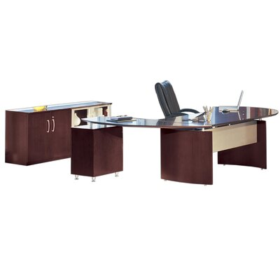 Napoli Series Standard Desk Office Suite Product Photo 3956