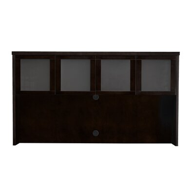 Mira Series 39 H x 70 W Desk Hutch Finish: Espresso