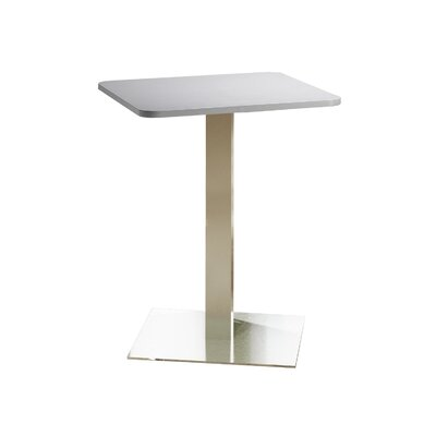 Bistro Bar Height Pub Table Tabletop Size: 30 W x 30 D, Top Finish: Folkstone