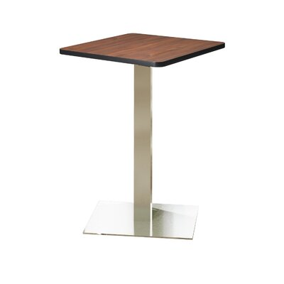 Bistro Bar Height Pub Table Finish: Regal Mahogany, Tabletop Size: 30 W x 30 D