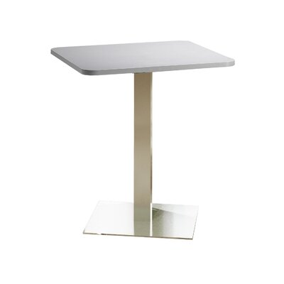 Bistro Bar Height Pub Table Tabletop Size: 36 W x 36 D, Top Finish: Folkstone