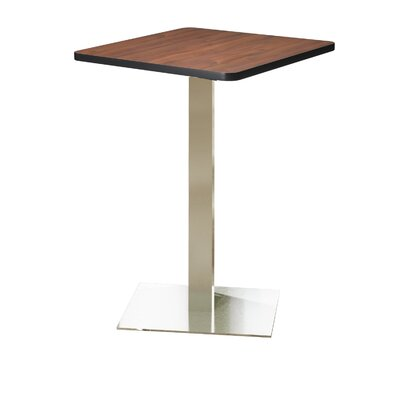 Bistro Bar Height Pub Table Finish: Regal Mahogany, Tabletop Size: 36 W x 36 D