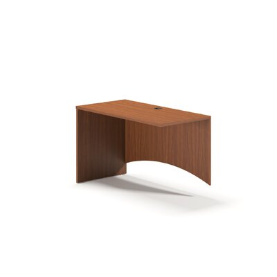 Brighton Series 29 H Left Desk Return Finish: Cherry, Size: 29 H x 48 W x 24 D