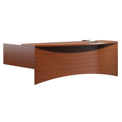 Brighton Series Reception Transaction Counter Finish: Cherry