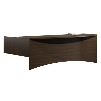 Brighton Series Reception Transaction Counter Finish: Mocha