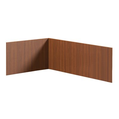 Brighton Series 14 H x 48 W Desk Privacy Panel Finish: Cherry