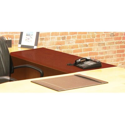 Luminary Series 29 H x 48 W Desk Bridge Finish: Cherry