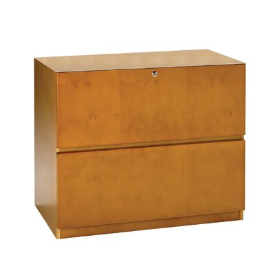 Luminary Series 27.75 H x 34.63 W Desk File Pedestal Finish: Maple