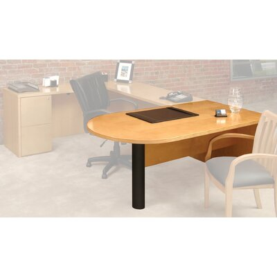 Luminary Series 29 H x 72 W Desk Peninsula Finish: Maple