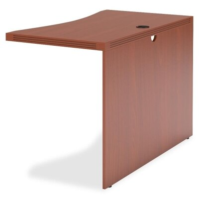 Aberdeen 29.5 H Desk Bridge Finish: Cherry, Size: 29.5 H x 48 W x 24 D