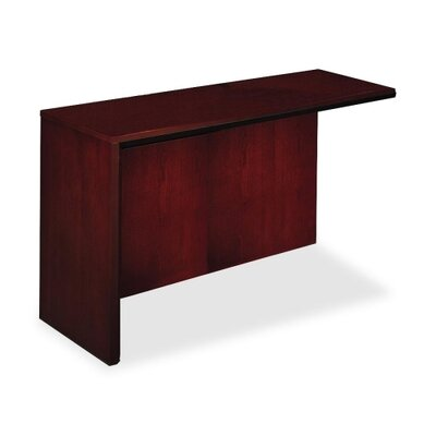 Corsica Series 29.5 H x 48 W Desk Return Finish: Mahogany, Orientation: Right