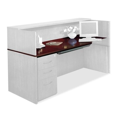 Corsica Reception Desk Top Product Image 1026