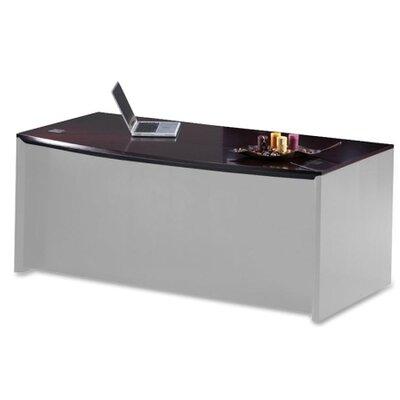 Corsica Bowfront Desk Top