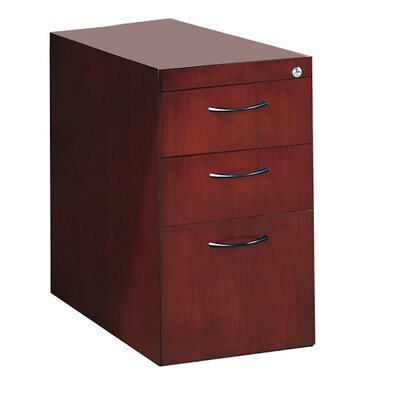 Corsica 27 H x 15.25 W Desk File Pedestal Finish: Golden Cherry, Size: 27 H x 15.25 W x 18 D