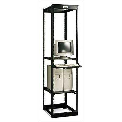 Dual Adjustable Rack Height: 72 H, Depth: 27 - 32 D