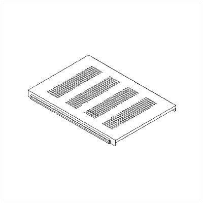 Sliding Shelf for Dual Adjustable Rack Depth: 21 - 26 D