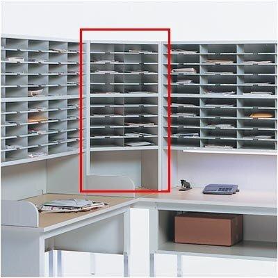 Mailroom Corner Sorter