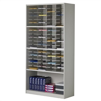 Mailroom Mailflow-To-Go 72 Pocket Cabinet