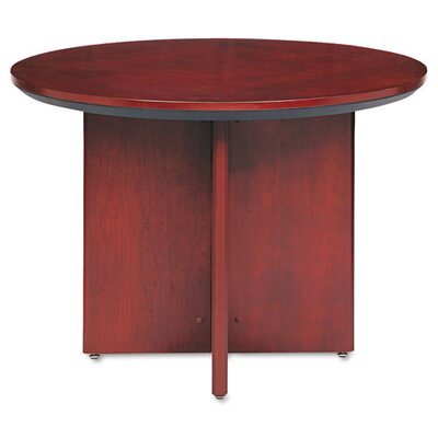 Corsica Circular 29.5H x 42W x 42L Conference Table Finish: Sierra Cherry