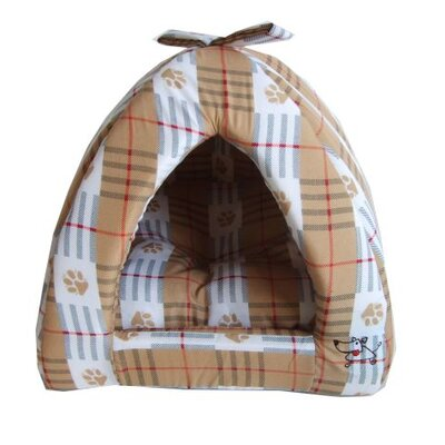 "Paws Cabana Dog Dome Size: Medium (16"" L x 16"" W)"