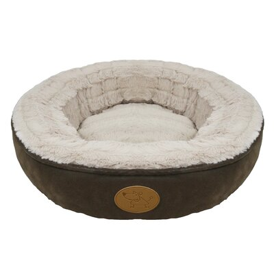 Faux Leather Doughnut Bed (Set of 10)