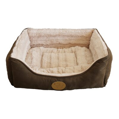 Square Bolster Dog Bed (Set of 6) Size: Medium - 22 L x 20 W