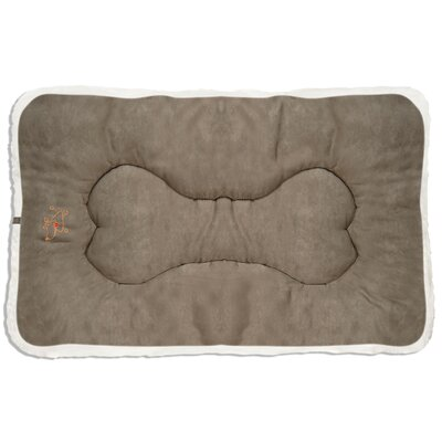 Gracie Crate Dog Mat Size: Large (36 D x 23 W), Color: Olive Green