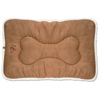Crate Dog Mat Size: Medium (30 D x 19 W), Color: Light Brown
