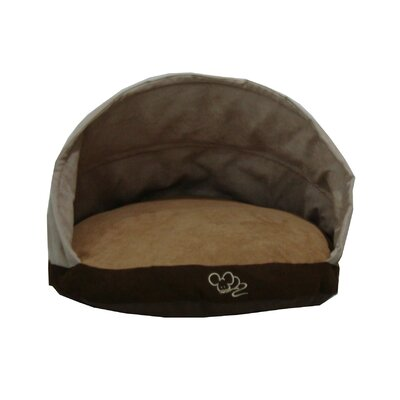 Suede Round Cat Bed