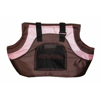 Oxford Pet Carrier Color: Pink and Black