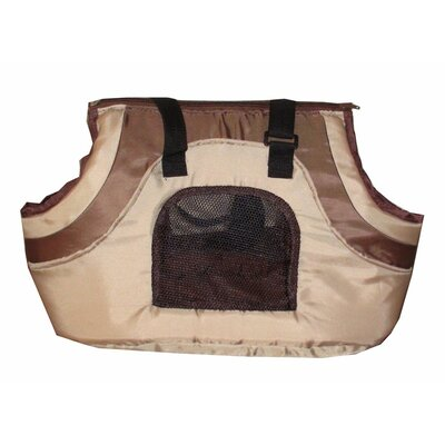 Oxford Pet Carrier Color: Khaki and Black