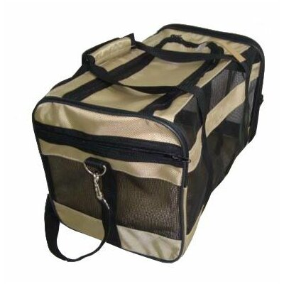 Oxford Duffel Pet Carrier Color: Khaki