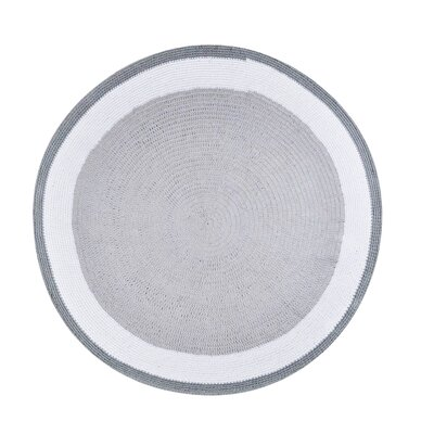 Trio Hand-Woven Gray Area Rug