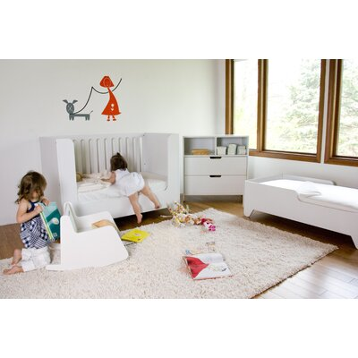 Hiya Toddler Bed Finish: White