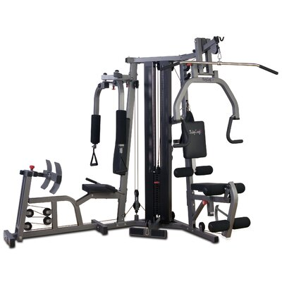 Galena Pro Home Gym Leg Press: Included, Stack Guard: Not Included