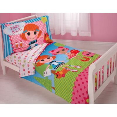 Lalaloopsy 4 Piece Toddler Bedding Set 7271416