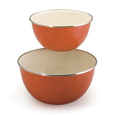 Signature Enamel on Steel Mixing Bowls (Set of 2)