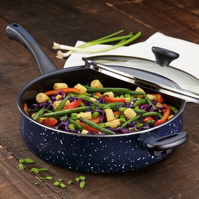5 qt. Riverbend Aluminum Non-Stick Covered Saute Pan with Lid