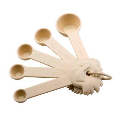 Signature Kitchen Tools 5 Piece Plastic Measuring Spoon Set 51689