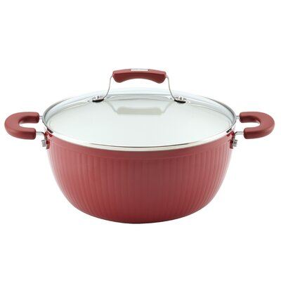 Paula Deen Savannah 5.5-Qt. Casserole with Lid - Color: Red at Sears.com