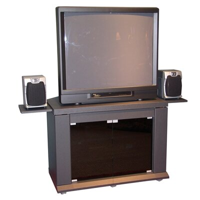 Cheap 4D Concepts Home Entertainment Stand in Charcoal (FDC1005)