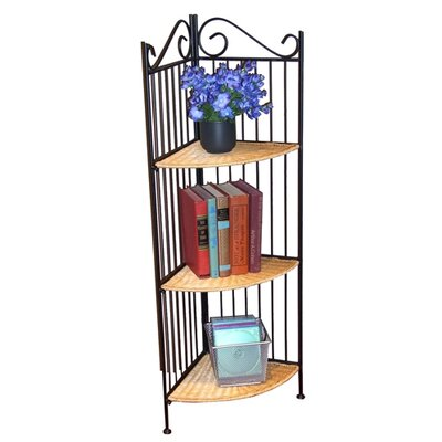 Wicker 43 Corner Unit Bookcase