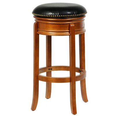 Heliodoro 24 Swivel Bar Stool Color: Oak