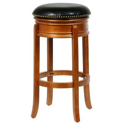 Helder 29 Swivel Bar Stool Color: Oak